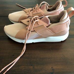 Puma Shoes - Puma Muse Satin Sneakers